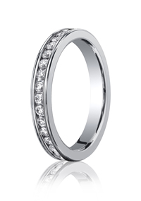 Eternity Band Mens Wedding Rings