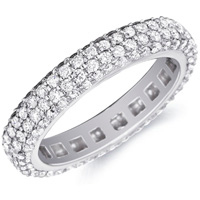 Olivia Diamond Cluster Band By Eternity