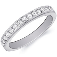 Juliet Bezel-Set Diamond Band By Eternity