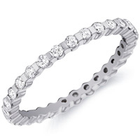 Caroline Stylized Diamond Band by Eternity