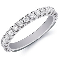 Iris Diamond Eternity Band by Eternity