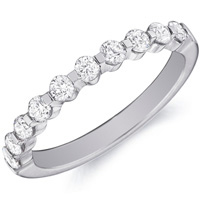 Jennifer Ten Diamond Band by Eternity