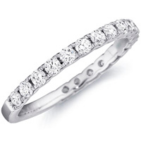 Samantha Diamond Studded Band by Eternity