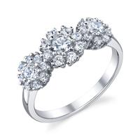 Floral Design Ring