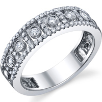 Fashion Diamond Band t.w. approx 3/8ct