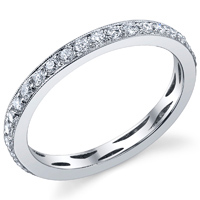 Vintage Style Eternity Band t.w. approx 1/3ct