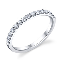 Wedding Band Shared Prong