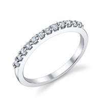 Adriana Prong Set Wedding Band (.23 ctw.)