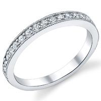Diamond Wedding Band t.w. approx .30ct