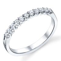 Diamond Wedding Band t.w. approx 1/5ct