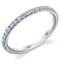 Wedding Diamond Band t.w. approx .43ct