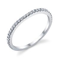 Diamond Wedding Band t.w. approx .20 Ct