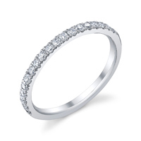 Diamond Wedding Band t.w. approx .30 Ct