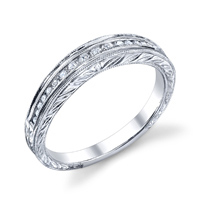 Vintage Engraved Style Band