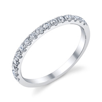 Diamond Wedding Band t.w. approx .35 Ct