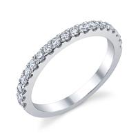 Diamond Wedding Band t.w. approx .42 Ct