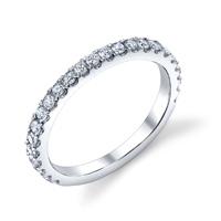 Diamond Wedding Band t.w. approx .45ct