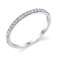 Diamond Wedding Band t.w. approx .25 Ct