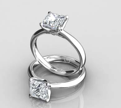 Princess Cut Diamond, Princess ...
