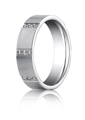 14k White Gold Pave