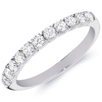 Claire Eleven Round-Cut Diamond Band by Eternity