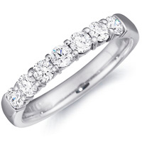 Hayley Seven Diamond Band by Eternity