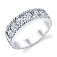 Fashion Diamond Band t.w. approx 1.20 Ct.