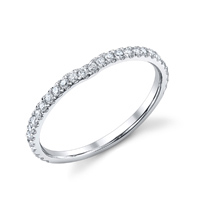 Curved Diamond Band t.w. approx .24ct
