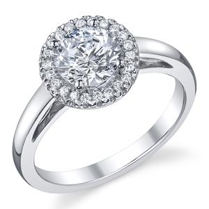 halo ring halo ring with plain wedding band