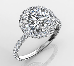 Halo Engagement Rings Collection Eternity By Yoni