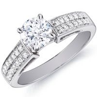 Lucy with Channel Set Diamond Ring (.25 ctw.)