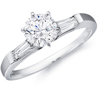 Carys Baguette Diamond Ring (.25 ctw.)