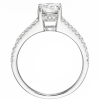 Gwen Diamond Ring with Split Shank (.32 ctw.)