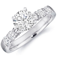 Hayley Diamond Engagement Ring by Eternity