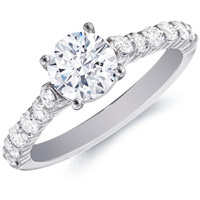 Ursula Diamond Engagement Ring by Eternity (.52 ctw.)