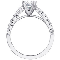 Valerie Diamond Studded Engagement Ring by Eternity (.31 ctw.)