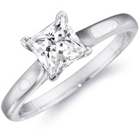 Dianna Classic Solitaire Engagement Ring