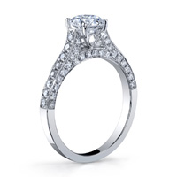 Mischa Cathedral Diamond Ring (.69 ctw.)