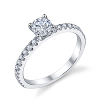 Gina Diamond Engagement Ring (.34 ctw.)