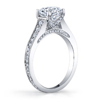 Giovanna Cathedral Diamond Ring (.45 ctw.)