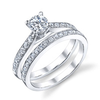 Deborah Diamond Engagement Ring (.19 ctw.)