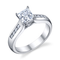 Mona Channel Set Diamond Ring (.23 ctw.)