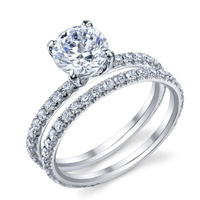 Jeanette Diamond Engagement Ring
