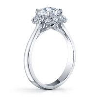 Scarlett Diamond Halo Ring